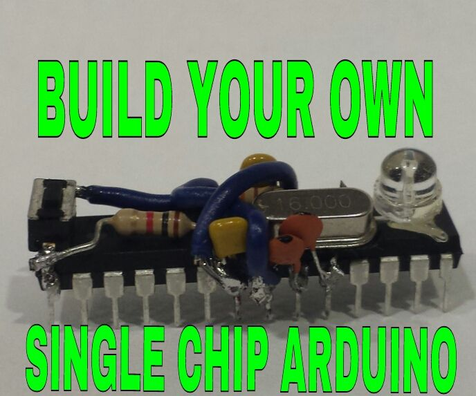 How to Make a Single Chip Arduino