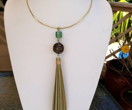 Love a Tree? Make a Tassel Necklace