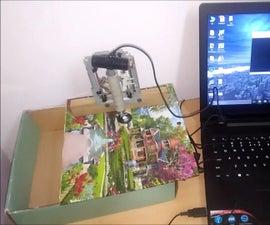 400X USB Webcam Digital Microscope (DIY)