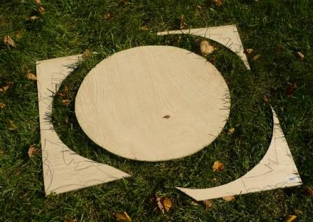 Picture of Draw and Cut Out Bats.