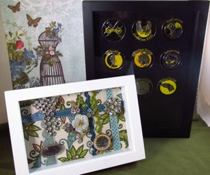 Brooch/pin Display and Protector Case