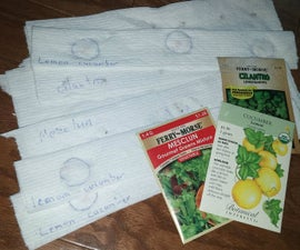 How to Make Seed Tape with Seeds of Any Size