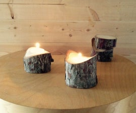 Concave / Convex Candle Holder