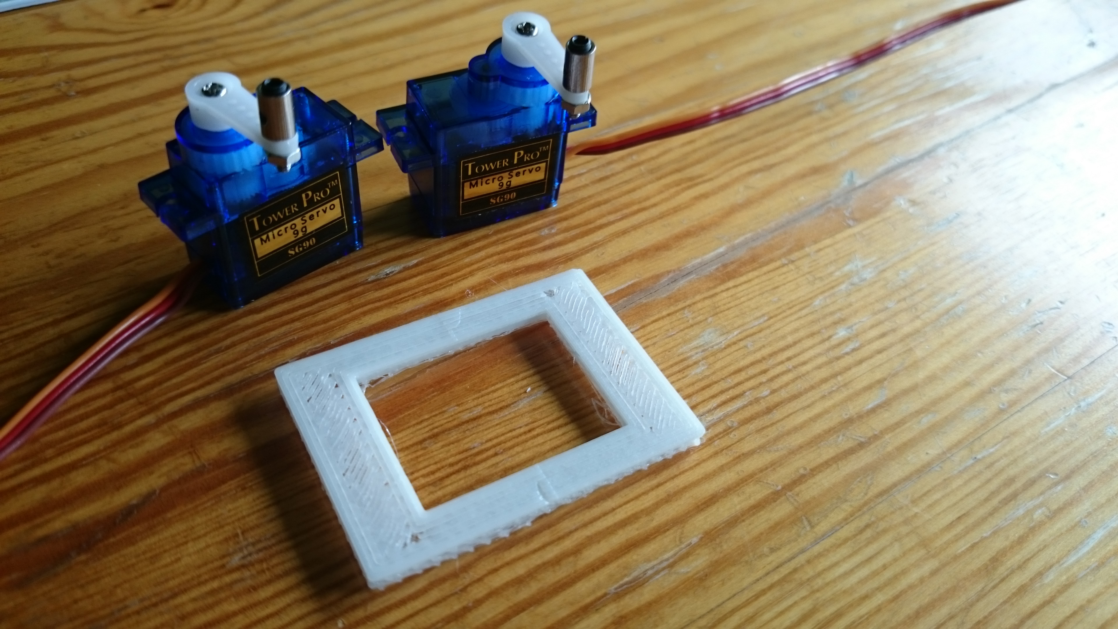 Picture of Servos Mounting