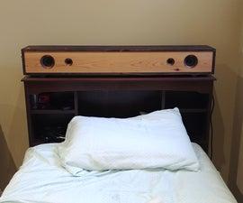 Wooden Bluetooth Tower Speaker/Soundbar