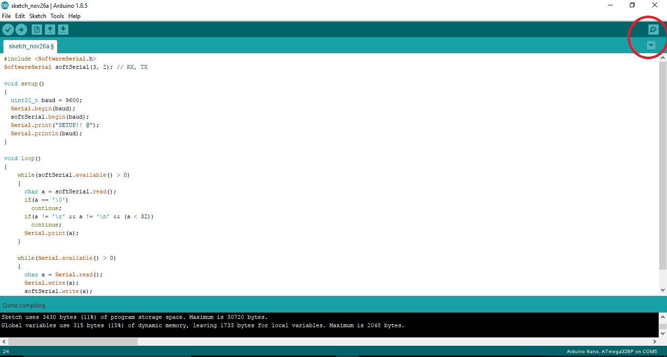 Picture of Open Arduino IDE