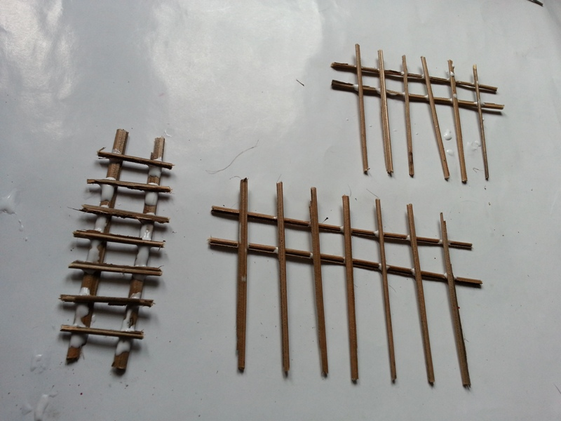 Picture of Mini Fences & Ladder