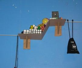 DIY Cardboard Mini Shelf