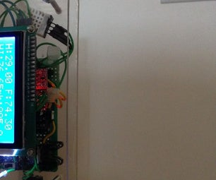 ESP8266+Arduino+thingspeak.com Environment Monitors