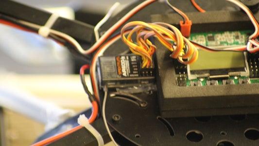 The Brain:Adding the KK Board and Reciever