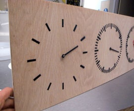 Three Part Clock