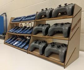 Classroom Robot Battery Station