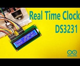 Arduino - DS3231 Real Time Clock