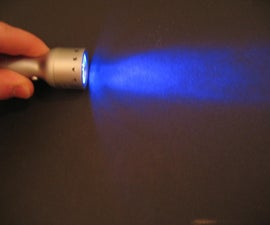 Blue LED Flashlight Mod