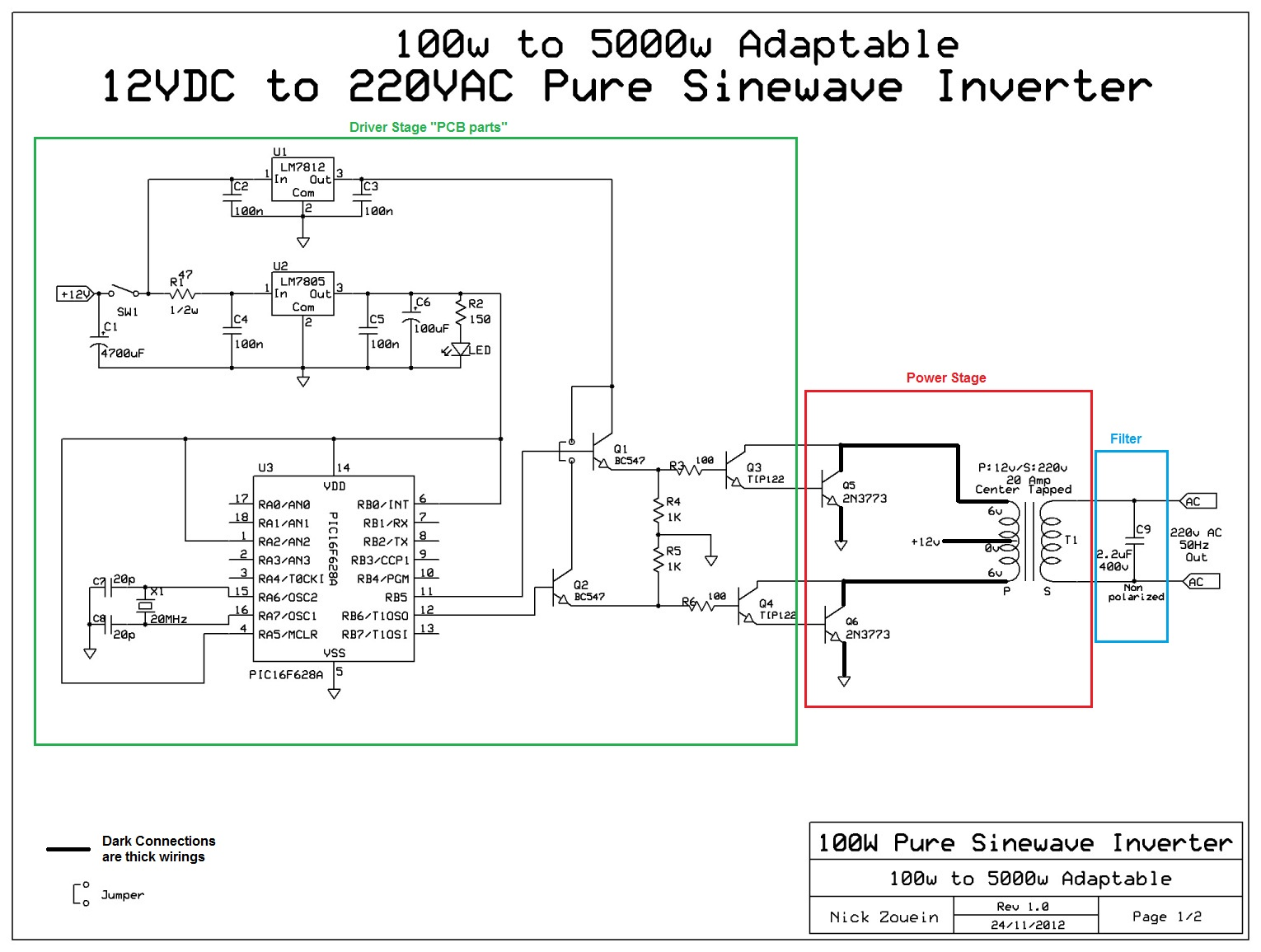pure sine wave inverter circuit diagrams free download wiring diagram Basic Circuit Diagram adaptable 12vdc 220vac pure sinewave inverter 12v flasher circuit diagram pure sine wave inverter circuit diagrams free download