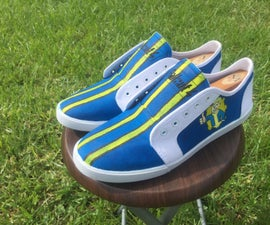 How to Make Professional Looking Custom Shoes for £10!
