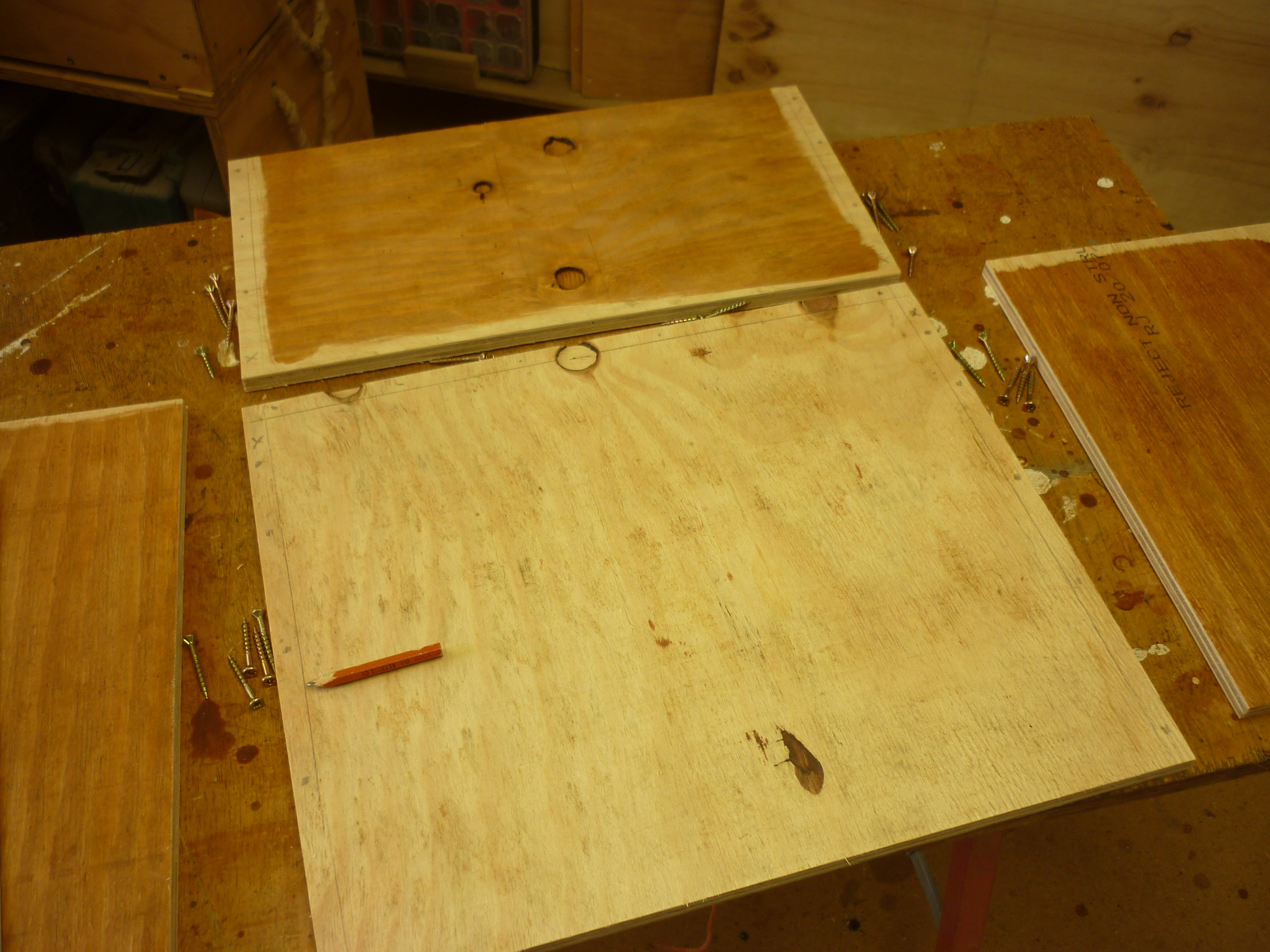 Picture of Building the Carcass and Fitting Drawer Runners