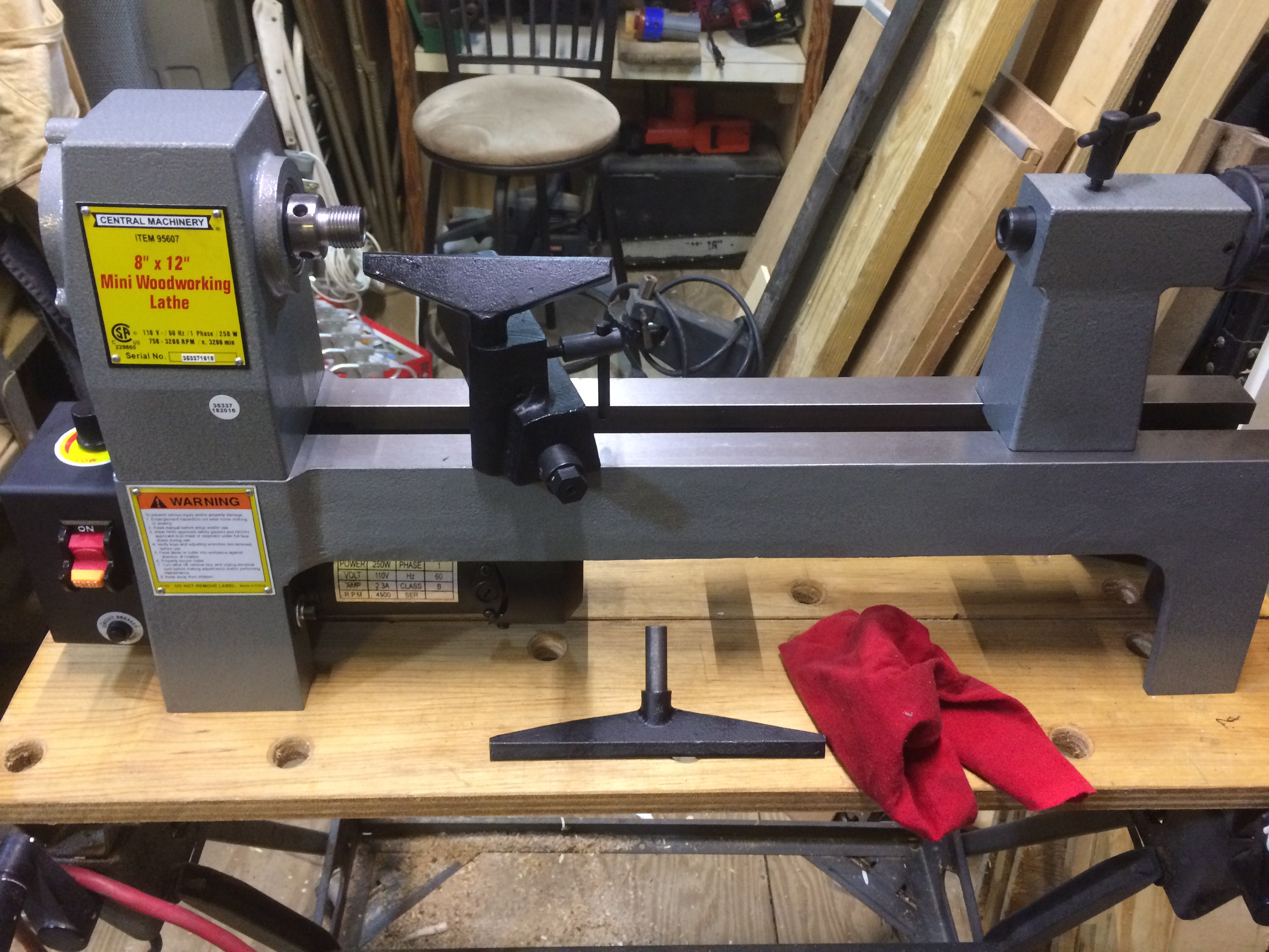 Picture of Making a Lathe Bench