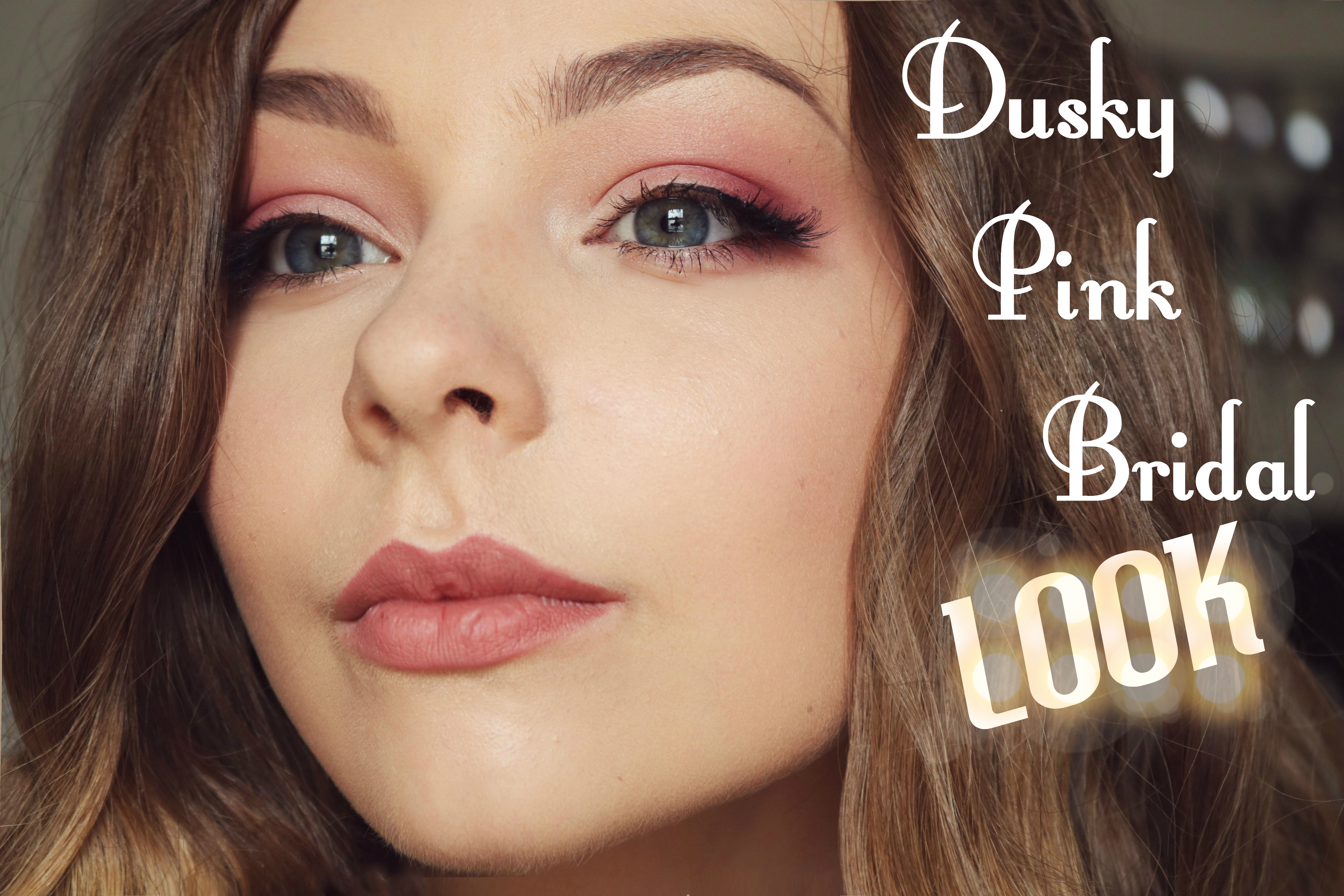 Picture of Dusky Pink Bridal Makeup Tutorial