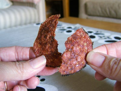 Crispy Baked Salami -- Low Carb & Gluten-Free Party Snacks!