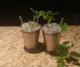 Mint Julep Planters