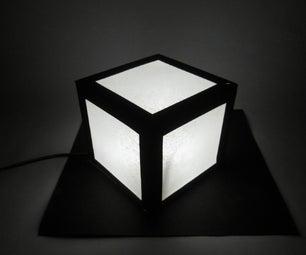 Paper Cube Night Light