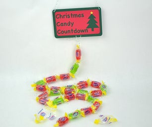 Christmas Candy Countdown