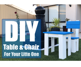 DIY - Kids Table and Chair