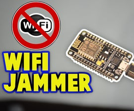 Wi-Fi Jammer With ESP8266