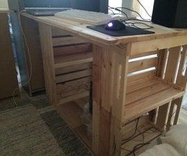 Pallet Crate Desk