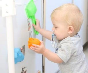Toddler-Safe Fridge Magnets