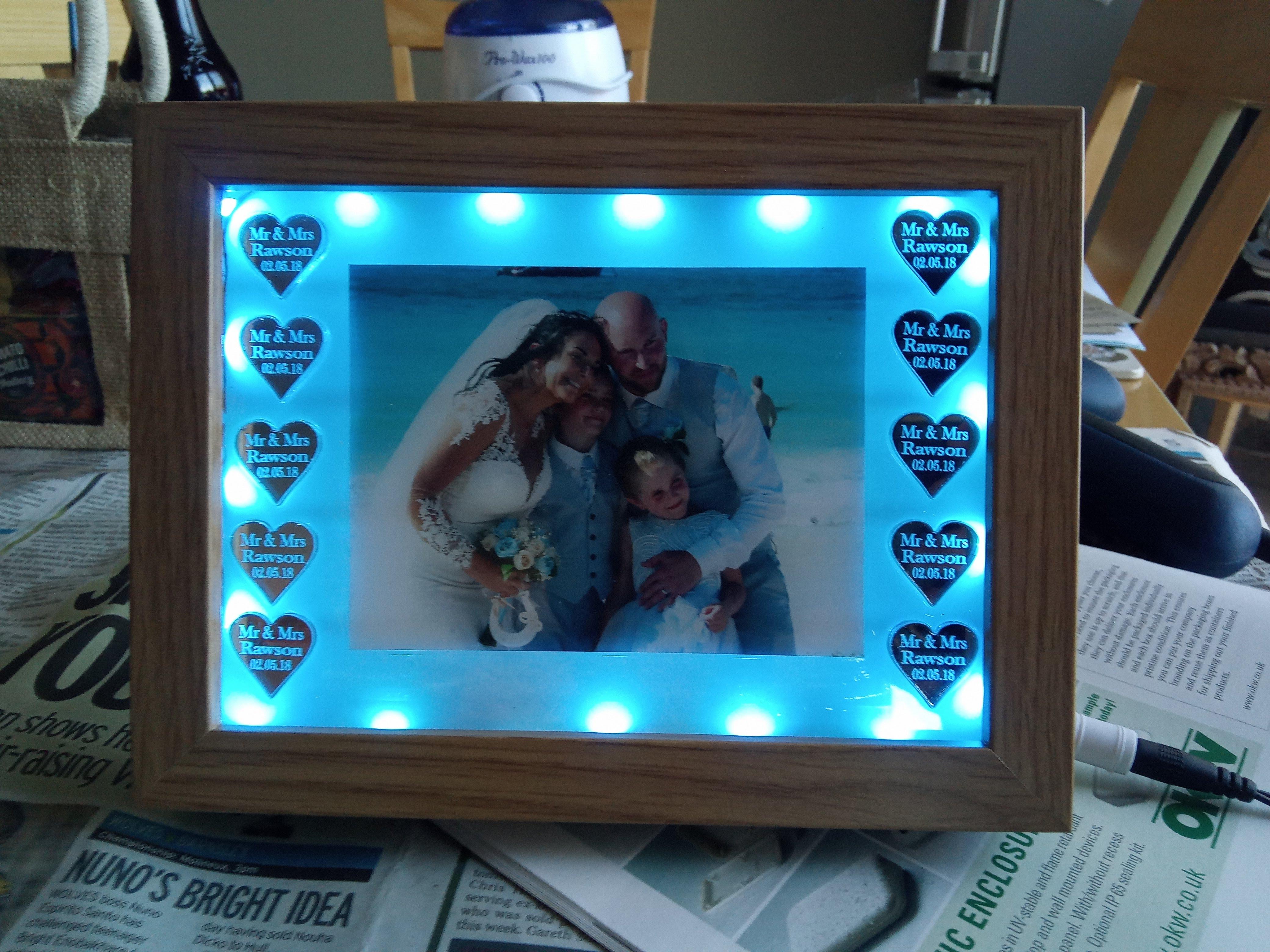 Picture of Illuminated Photo Wedding Gift