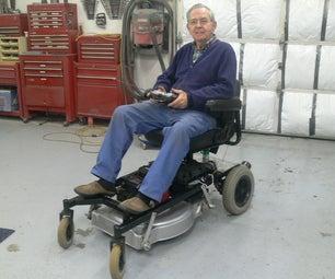 RC Riding Lawnmower