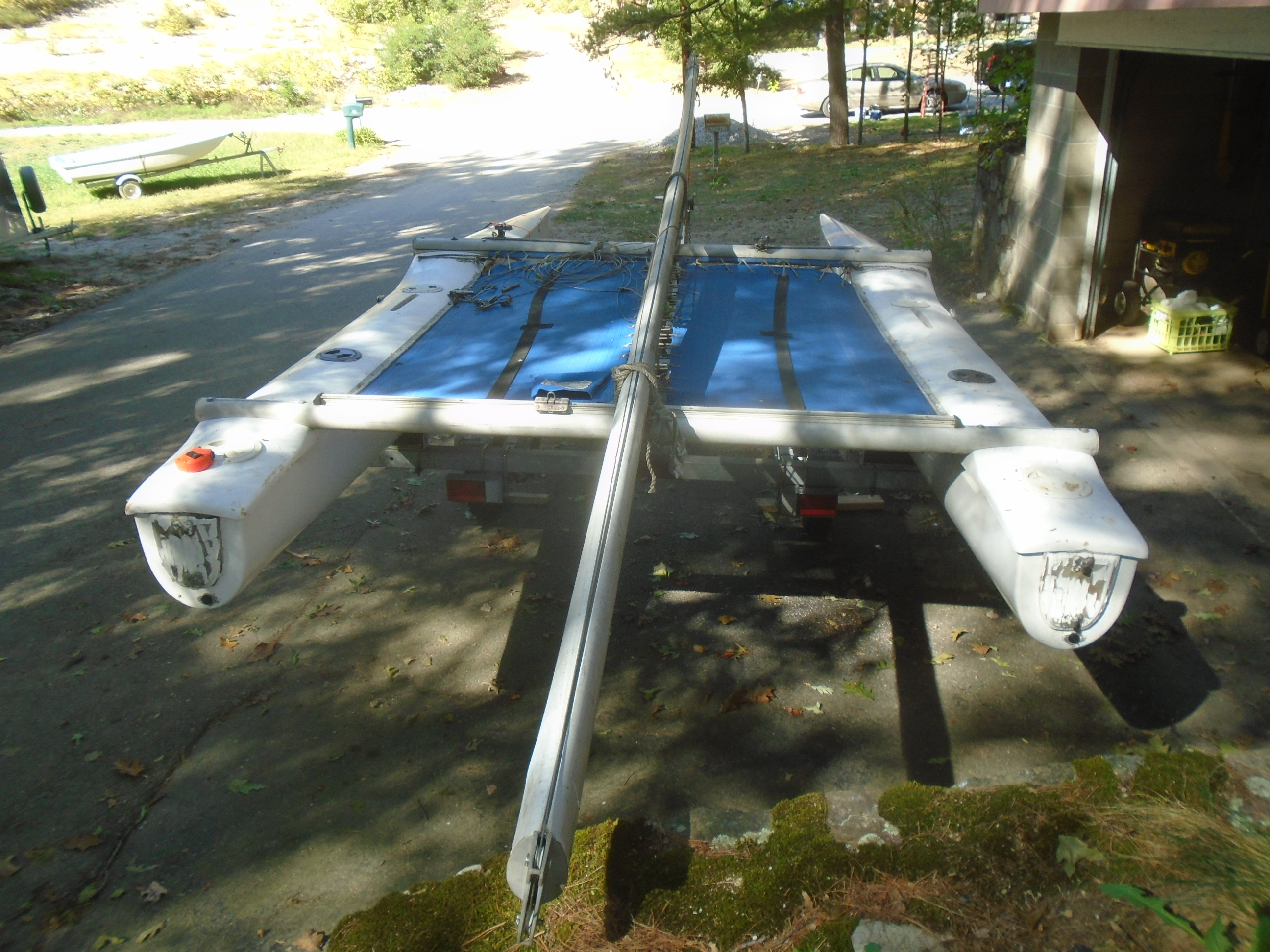 Picture of The Surly Mermaid: Catamaran to Recreational Cruiser Conversion