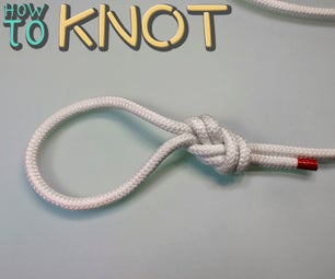 How to Tie a Threaded Figure Eight