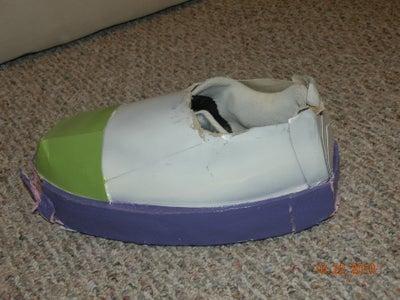 Buzz's Feet