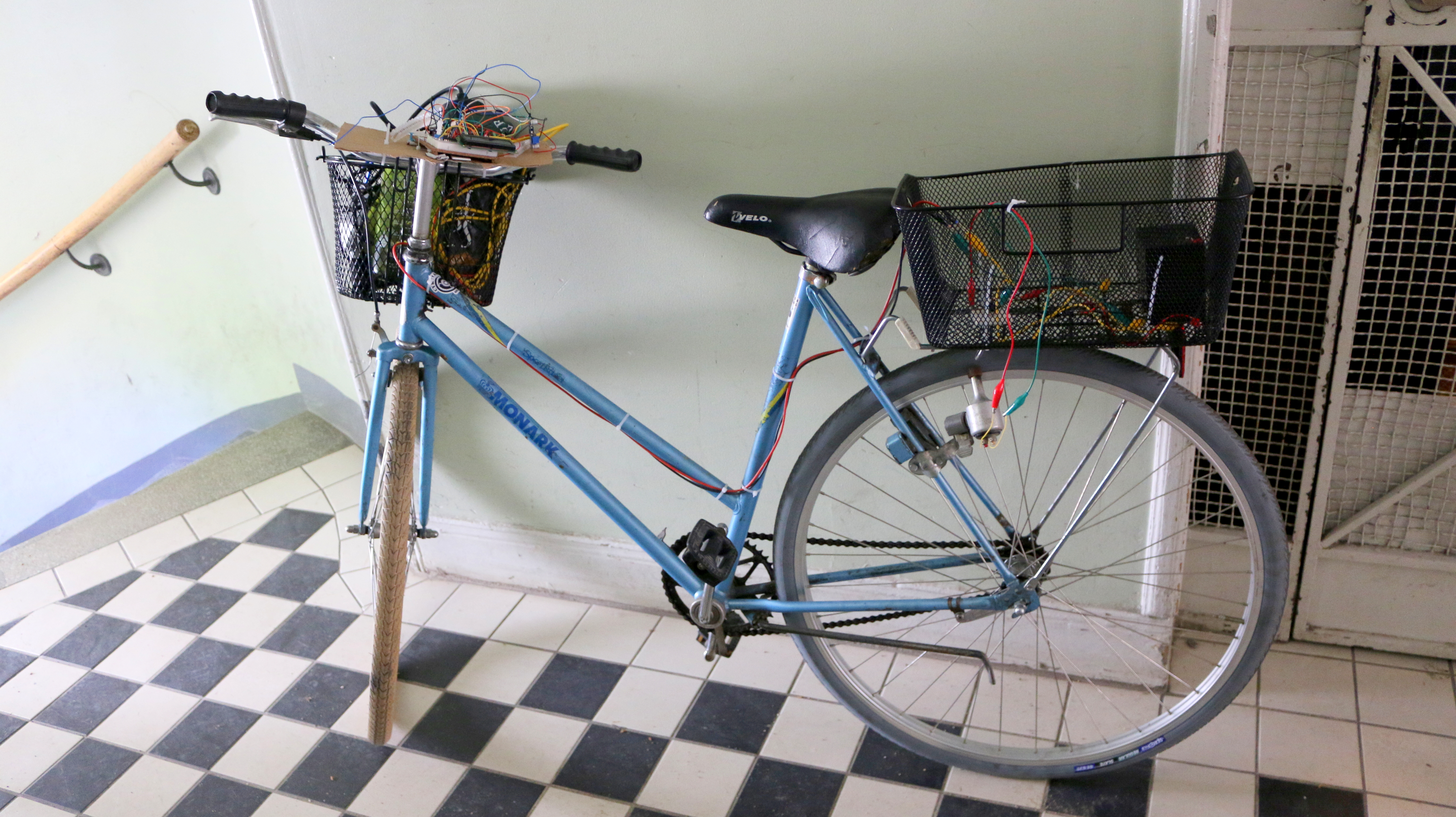 Picture of Bicycle - Powered Arduino Water Purification System (using UVC Light)