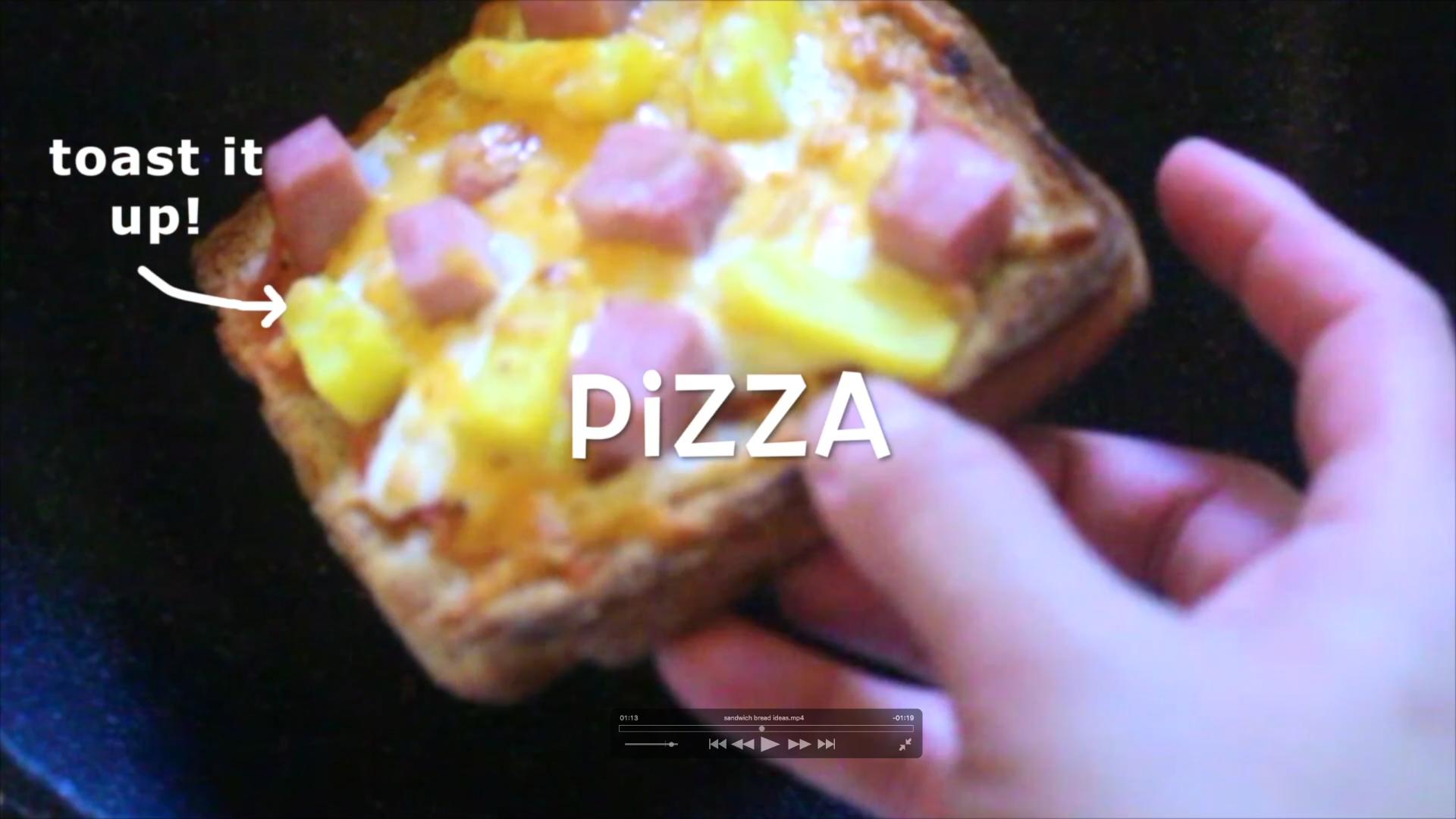 Picture of Make a Sandwich Pizza!