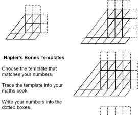 Napier's bones, without the bones.