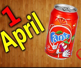 Fanta With Pepper Flavor for the 1st of April / PRANK