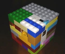 Three-dimensional Lego Labyrinth Puzzle