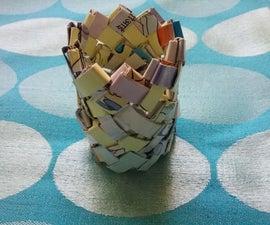 DIY Paper Vase 2