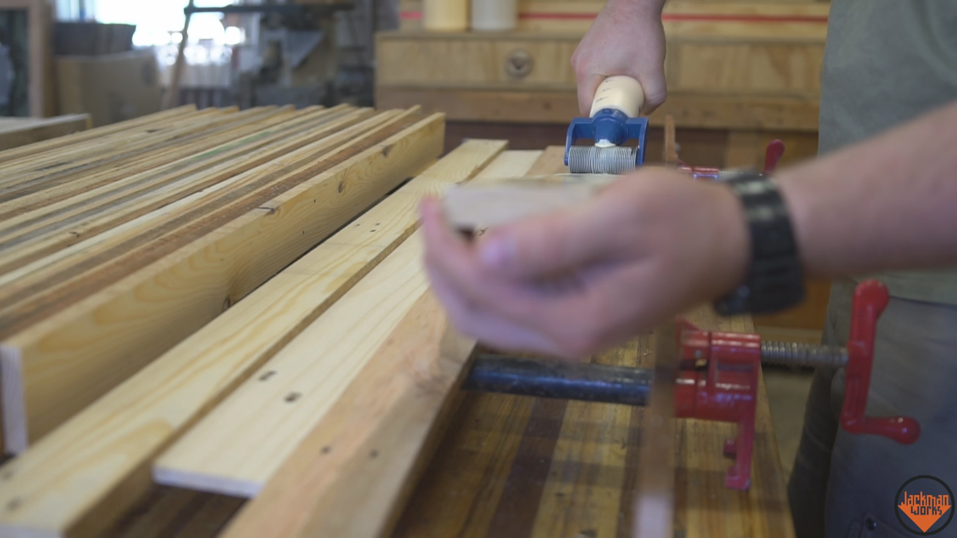 Picture of Glue-Up and Clamping