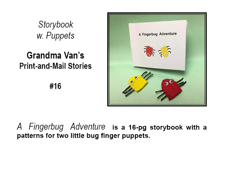 Picture of Fingerbugs Storybook and Puppets (#16)
