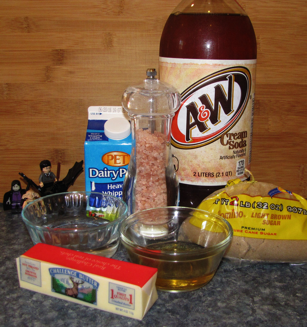 Picture of Ingredients (makes 4 Servings)
