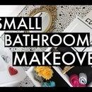 DIY Small Bathroom Makeover