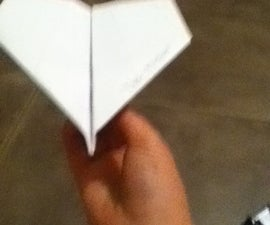The Pro-racer Paper Airplane