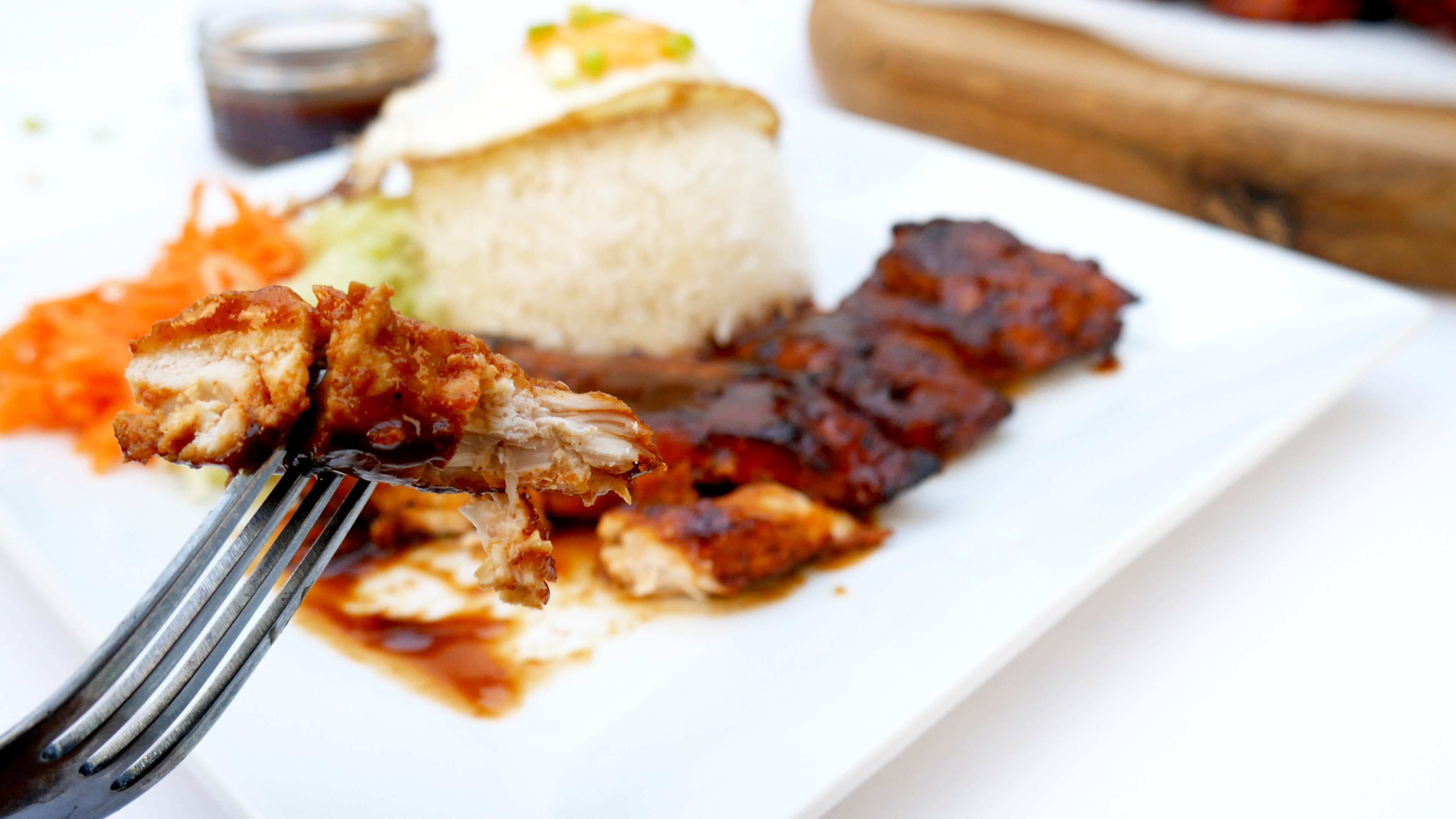 Picture of OVEN BAKED BBQ (BARBECUE) CHICKEN