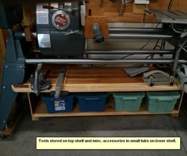 Build an Accessory Shelf for a ShopSmith Mark V