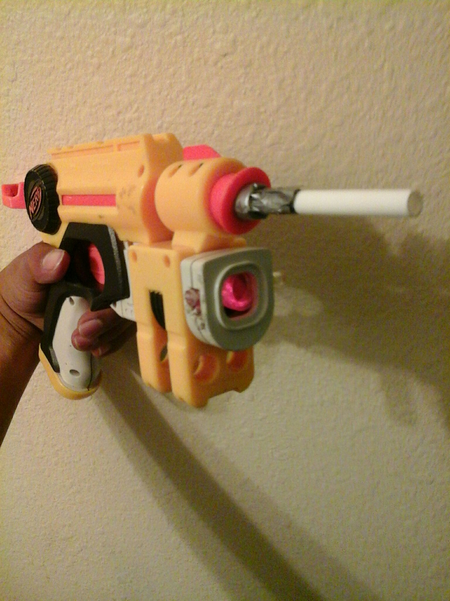 Picture of Nerf Nitefinder Modification ( Airsoft Mod )
